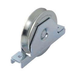Roue gorge triang support int D100