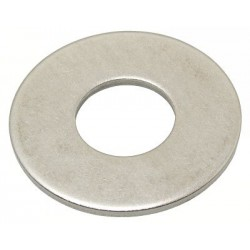 Rondelle Type M Zin blanc