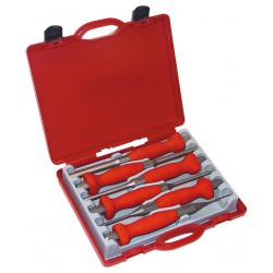 Coffret rouge 6 chasse-goupilles