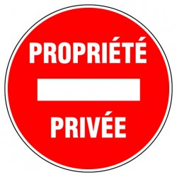 Disque 300 propriete privee