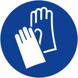Disque 300 obligation de porter des gant