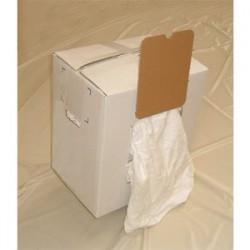 Chiffon essuyage blanc indus carton 1