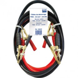 Cable de demarrage 700A 2x4.5m 35mm2