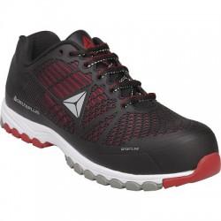Chaussure basse Delta Sport S1P noir/rouge 39
