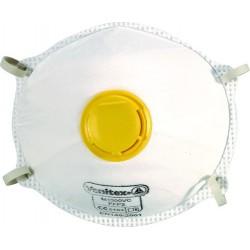 Masque FFP2 avec valve bte de 10