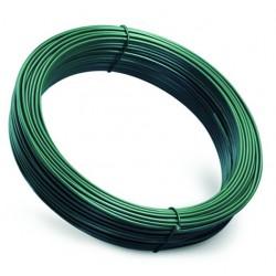 Fil tension plastifié Vert