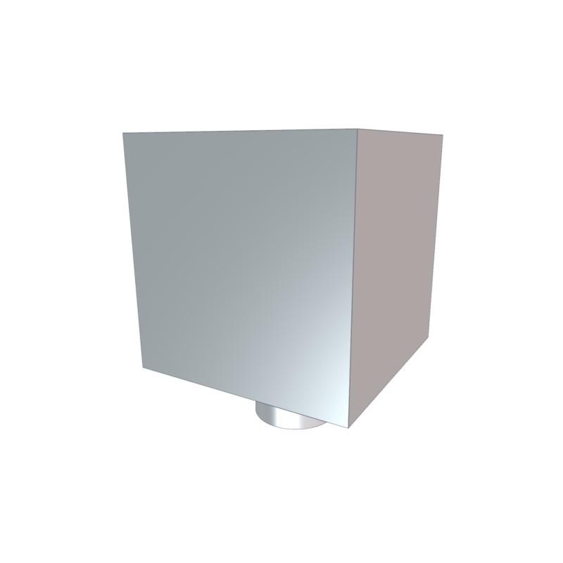 boite a eau zinc 200x200 avec tp. Black Bedroom Furniture Sets. Home Design Ideas