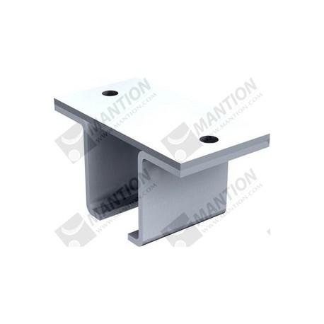 support envelop fixation plafond rail 50x40. Black Bedroom Furniture Sets. Home Design Ideas